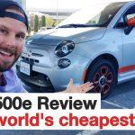 Fiat 500e Review - The world's cheapest EV!